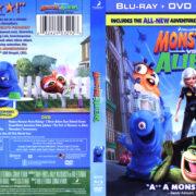 Monsters Vs Aliens (2009) Blu-Ray