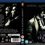 A Most Violent Year (2014) R2 CUSTOM DVD Cover
