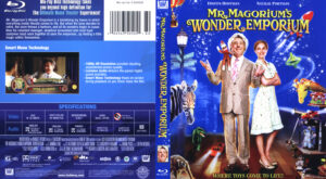 Mr Magorium's Wonder Emporium (Blu-ray) dvd cover