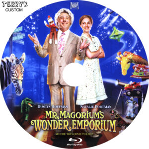 Mr Magoriums Wonder Emporium (Blu-ray) Label