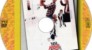 Mr. Mom dvd label