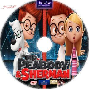 Mr. Peabody & Sherman dvd label