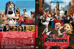 Mr. Peabody & Sherman dvd cover