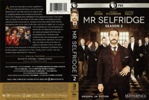 Mr Selfridge season 2 dvd cover