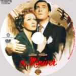 Mrs. Miniver (1942) R1 Custom DVD Label