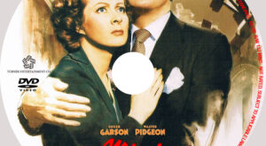 Mrs Miniver dvd Label