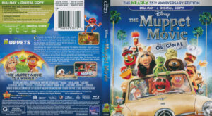 Muppet Movie, The Original (Blu-ray) dvd cover