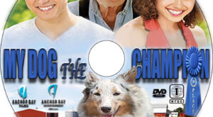 My Dog the Champion dvd label