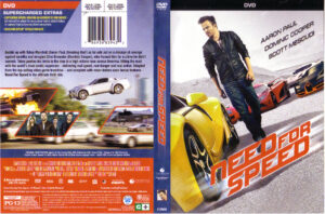 Need For Speed dvd cover