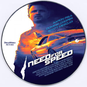 need for speed dvd label