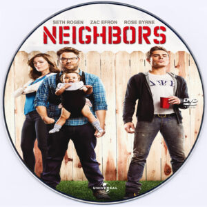 Neighbors dvd label