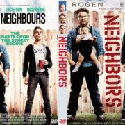 Neighbors (2014) Custom DVD Cover