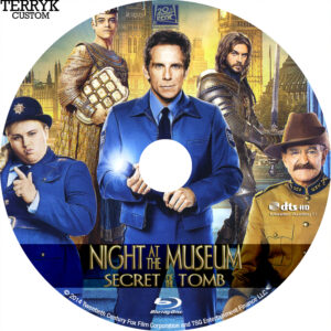 Night at the Museum 3 (Blu-ray) Alt Label