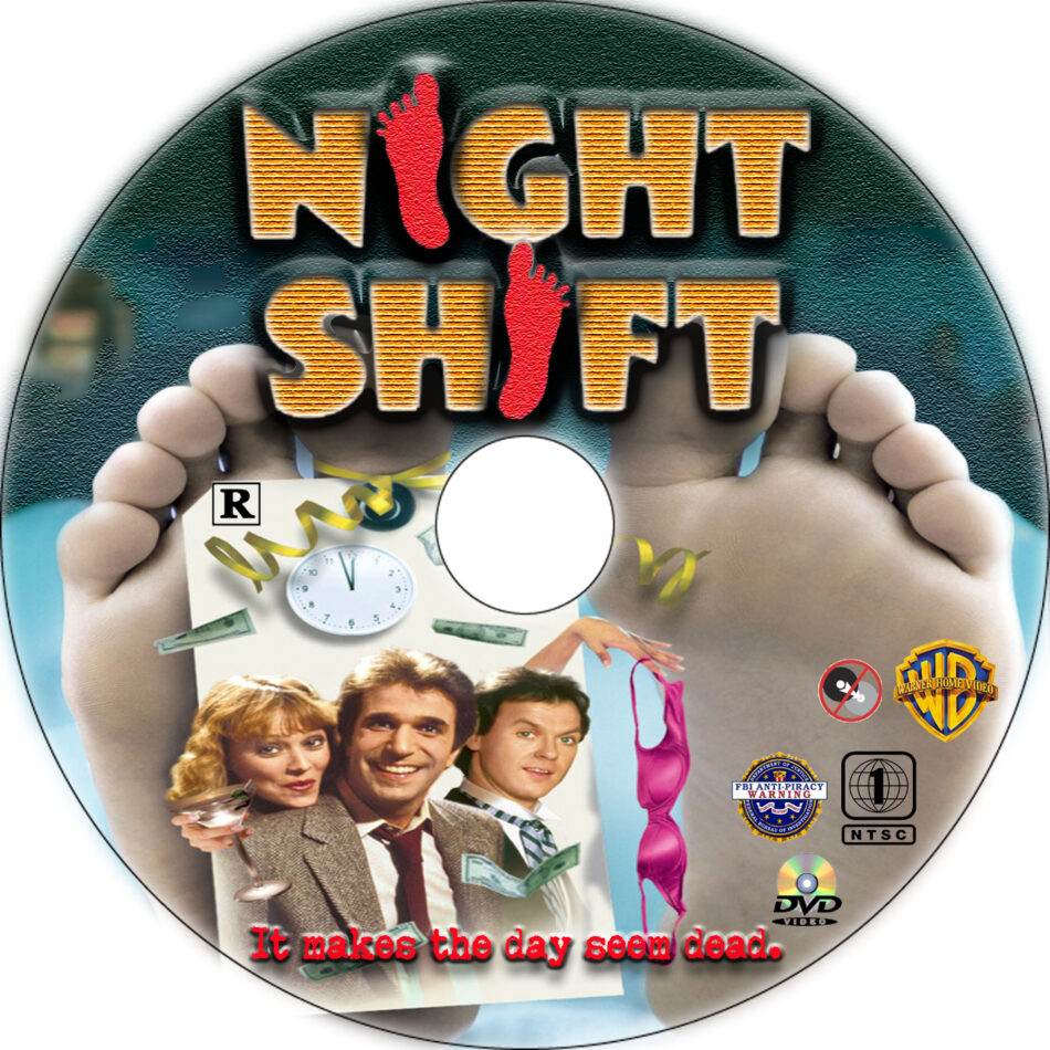 Night Shift dvd label