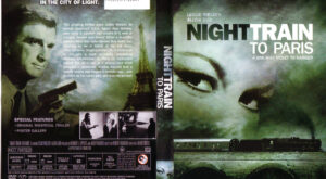Night Train To Paris dvd cover
