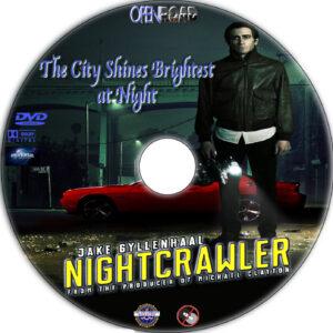 Nightcrawler dvd label