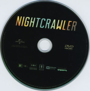 Nightcrawler blu-ray dvd label