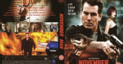 The November Man dvd cover