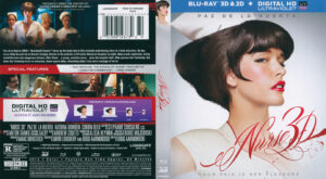 Nurse 3D (Blu-ray) dvd cover