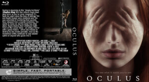 oculus blu-ray dvd cover