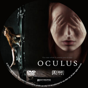 Oculus Custom DVD Label