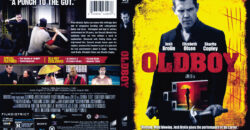 Oldboy blu-ray dvd cover