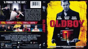 Oldboy blu-ray dvd cover