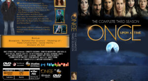 Once Upon A Time - The Complete Third Season dvd cover
