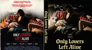 Only Lovers Left Alive dvd cover
