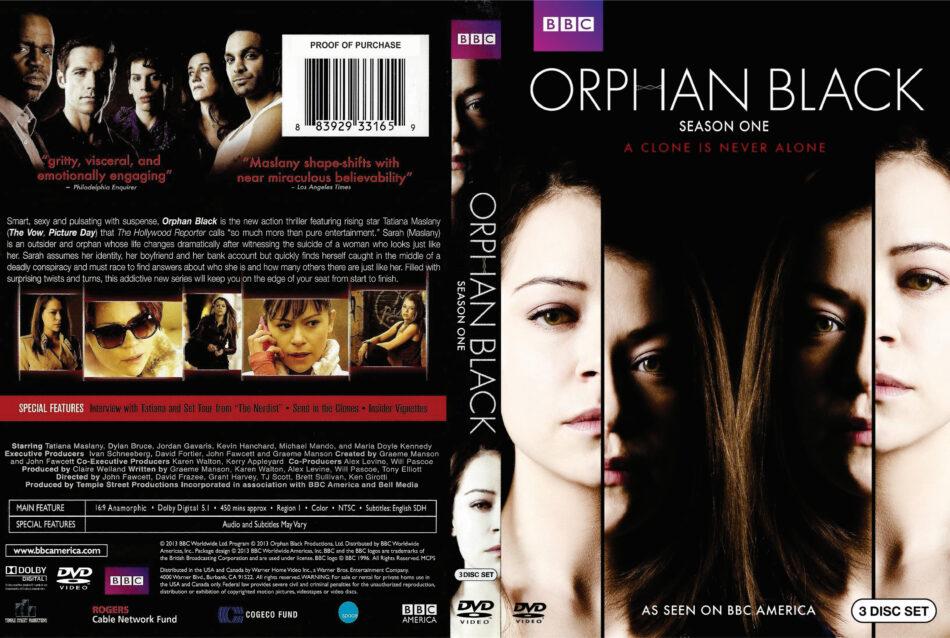 Orphan Black season 1 dvd cover