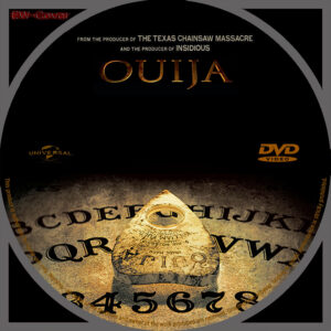 Ouija dvd label