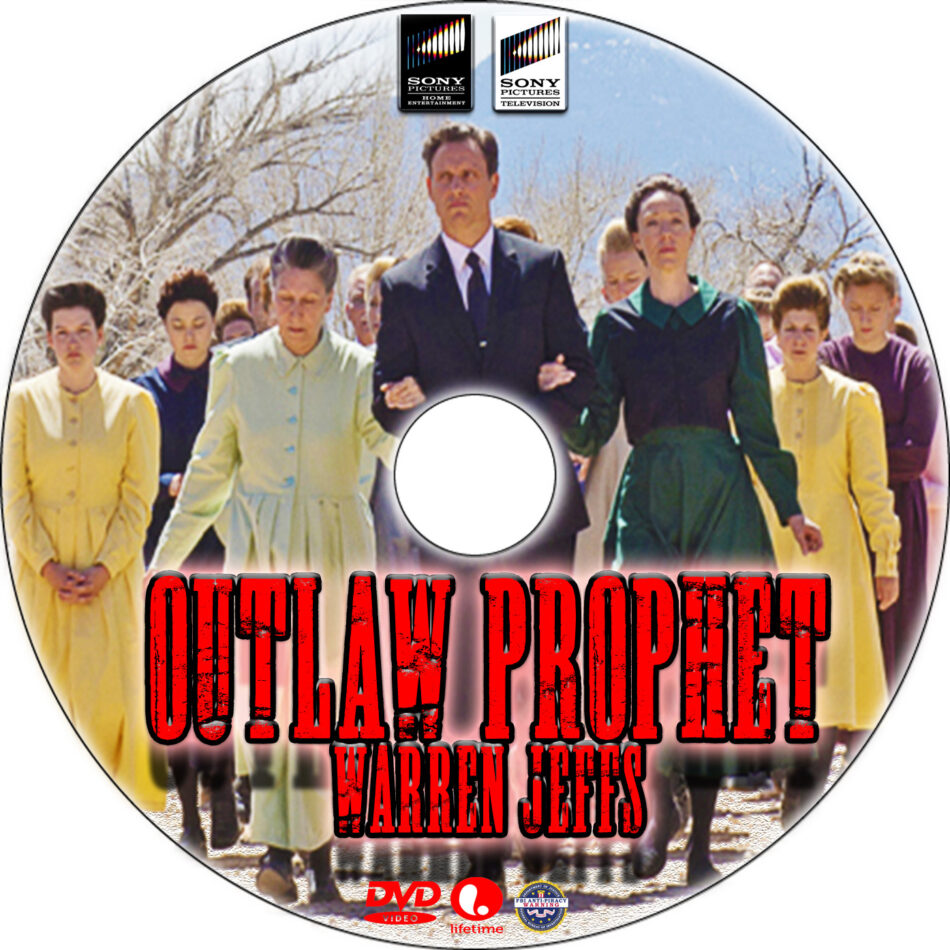 Outlaw Prophet: Warren Jeffs dvd label