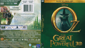 Oz The Great and Powerful (Blu-ray) 3D dvd cover