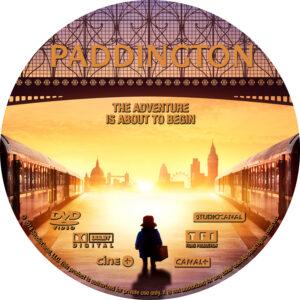 Paddington dvd label