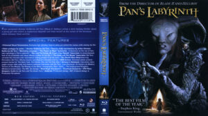 Pan's Labyrinth (Blu-ray) dvd cover