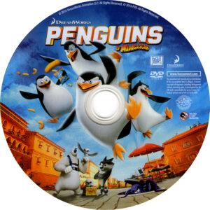 Penguins of Madagascar dvd label