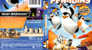 Penguins of Madagascar front dvd cover