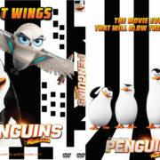 Penguins of Madagascar (2014) Custom DVD Cover