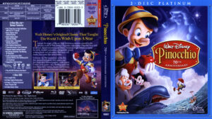 Pinocchio (Blu-ray) dvd cover