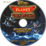 Planes: Fire & Rescue (2014) R1 Custom Label