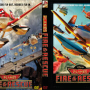 Planes: Fire & Rescue (2014) Custom DVD Cover