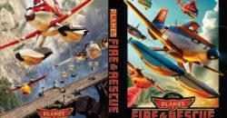 Planes: Fire & Rescue dvd cover