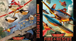 Planes: Fire & Rescue dvd cover