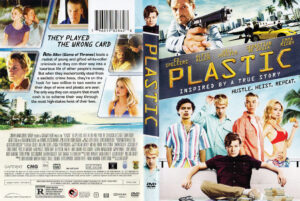 Plastic dvd cover