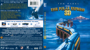 The Polar Express 3D Blu-Ray DVD Cover