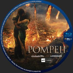Pompeii blu-ray dvd label