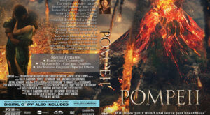 Pompeii Custom DVD Cover