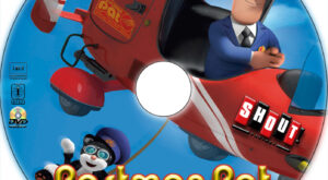 Postman Pat: The Movie dvd label