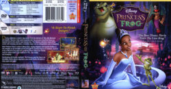 The Princess and the Frog blu-ray dvd cover