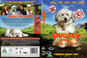 Pudsey the Dog: The Movie dvd cover